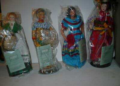 4 Avon International P0Rcelain Figurines New In Box