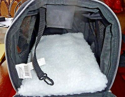 Olivet Small Pet Carrier Soft Sided Fleece Bed NWOT
