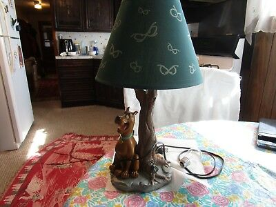 Extremely Rare! Hanna Barbara Scooby Doo Sitting Figurine Lamp Statue From 1997
