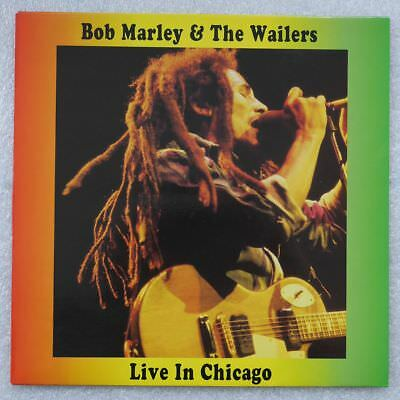 Bob Marley & The Wailers Live In Chicago (The Swingin' Pig)  LP clearWax