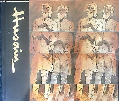 M F Husain,Coffee Table Book,Drawings, Illustrated,India, Horses