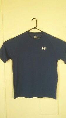 cd532b80 MENS UNDER ARMOUR Loose Fit Heat Gear T-Shirt Size Large - $10.00 ...