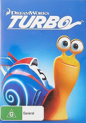 Turbo DVD Region 4 NEW