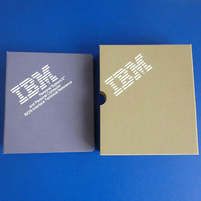 IBM PS/2 and PC BIOS Interface Technical Reference, englisch, 1987