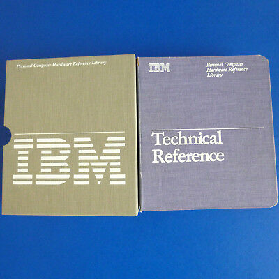 IBM PC AT Technical Reference plus Options and Adapters, englisch, 1984