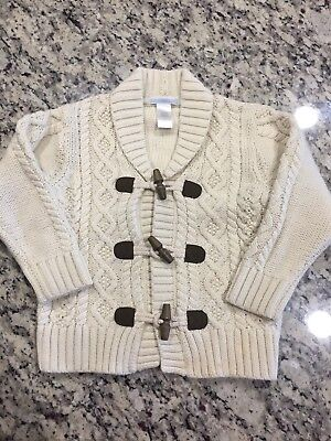 Janie and Jack Cardigan Easter Sweater sz 3T