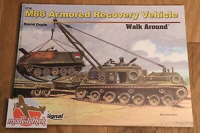 *** Squadron Signal No. 5716 M88 Armored Recovery Vehicle Walk Around ***