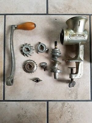 Universal No.1 Food & Meat Chopper by Landers Frary & Clark In Box-All Parts
