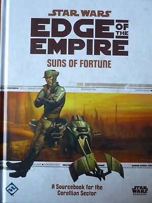 Star Wars - Edge of the Empire: Suns of Fortune (Topzustand)