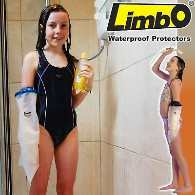 Limbo Waterproof Cast Protectors - For Showers AND Baths! (Child 8-10 Years, ...