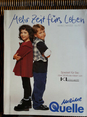 Quelle Mode Katalog v. Herbst Winter 1996 1997