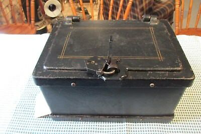 Vintage WELLS FARGO Strong Box / with Vintage Lock