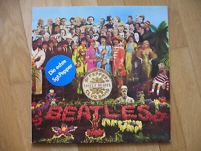 "Beatles LP ""Sgt Pepper's lonely Hearts Club Band"""