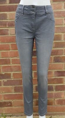 Next Lift, Slim And Shape Grey SKINNY Jeans With Fake Front Pocket  All Sizes