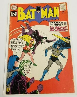 Batman #145 (Feb 1962, DC) Joker Cover Good to Very Good