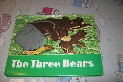 Vintage 1977  Three Bears  Pop Up Book  By Lev Tolstoy  Ussr  Nice Condition