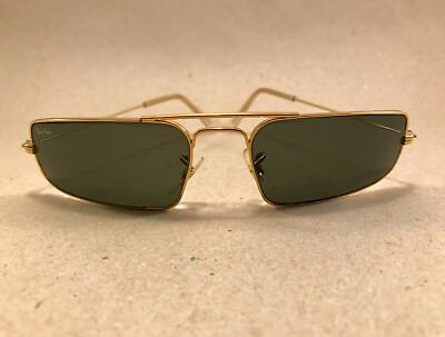 Vintage Ray Ban Fugitives Metal Square W1957 G15 B&L Bausch Lomb USA