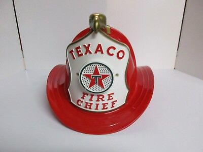Vintage TEXACO Fire Chief Helmet