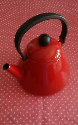 red enamel kettle, collect Hastings