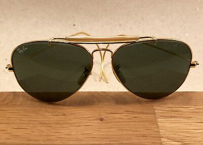 ​Vintage Ray Ban Outdoorsman Cable Arista General 58 [] 14 B&L Bausch Lomb USA