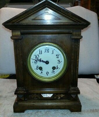 Antique bracket / mantle clock by HAC.