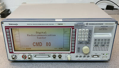 Tektronix CMD 80 Digital Radiocommunication Tester (Rohde Schwarz 1050.8008.81)