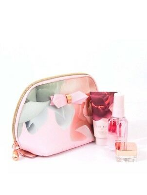 Ted Baker make up Beauty To Behold Cosmetic Purse Gift Set BNWT