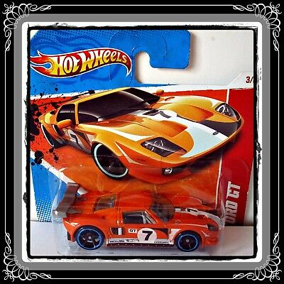 Hot Wheels Thrill Racers/race World 2011 - * Ford Gt - Lm * [2]