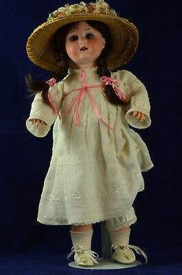 antike Porzellankopfpuppe Heubach  doll bisque head sleepy eyes