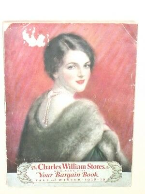 1928-1929 ~ Charles William Stores ~ Fall & Winter Catalog ~ HASKELL COFFIN ~