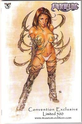 Witchblade #62 2003 Exclusive Convention Museum Variant Ltd 500 VERY RARE!