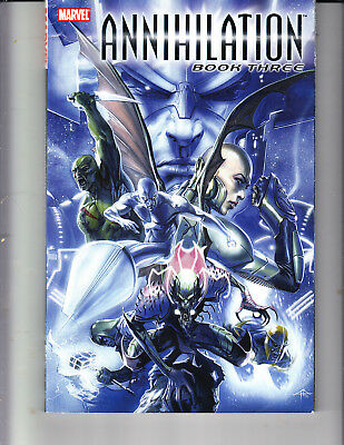ANNIHILATION book 3 MARVEL TPB Silver Surfer Nova Guardians of the Galaxy