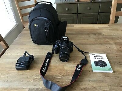Canon EOS Rebel T3i / EOS 600D 18.0MP / EF-S 18-55mm Digital SLR Camera Bundle