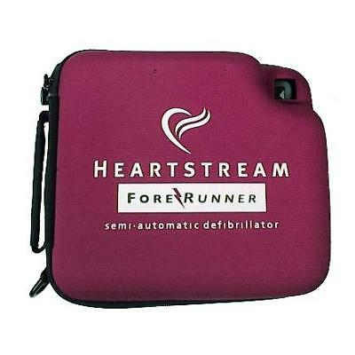 Heartstream AED Semi Automated Defib w/Battery Installed 4 yr guarantee NEW pads