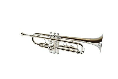 BRAND NEW Syrinx Student Trumpet in Bb - Silver Plated - FREE POSTAGE IN OZ