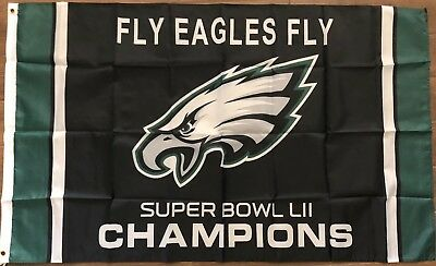 aac434bee5c PHILADELPHIA FLY EAGLES FLY 2018 SUPER BOWL CHAMPIONS FLAG 3 X5 Dilly BANNER  🏈