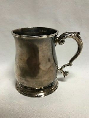Richard Gurney Thomas Cook George II Sterling Silver Mug Tankard London 1745