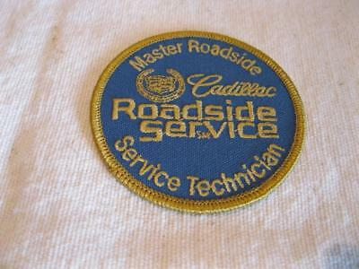 Cadillac Master Roadside Technician Uniform Embroidered Patch