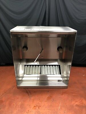 "*MINT* Halton 48"" 4 FT Type 1 Grease Exhaust Commercial Kitchen Hood"