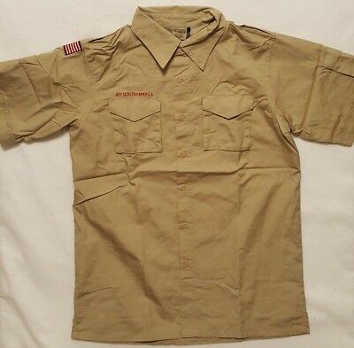 Boy Scouts of America Short Sleeve BSA MEN ~ Small Medium Large XL ~ Cotton Poly