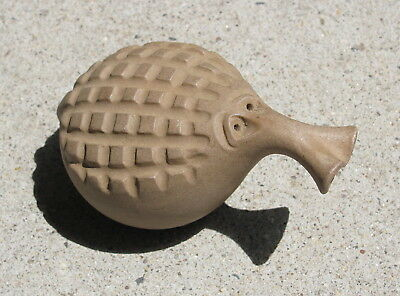 """""""ROBERT MAXWELL"""" Signed Pottery Critter Fig. 12 Mid-Century Modern Ceramic"""