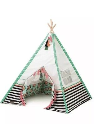 Matilda Jane BARLEY FIELDS PLAY TENT TeePee Joanna Gaines NEW In Box  sc 1 st  PicClick & FRENCH BULL Teepee Play Tent New In Box Target Exclusive - $54.99 ...