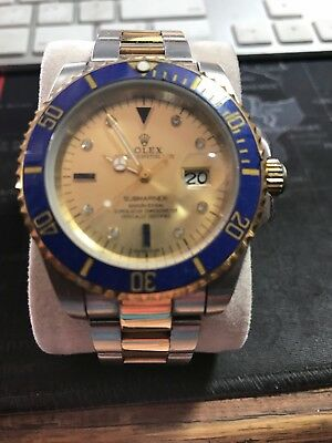 Replica quality automatic submariner watch