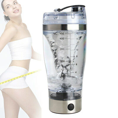 Electric Protein Shaker Bottle Vortex Mixer Cup Portable Blender Drink Shake