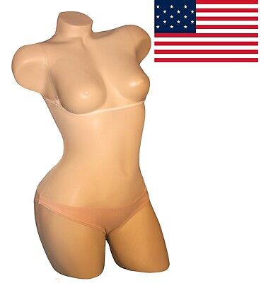 In Us Stock! Genuine Belly Stockings™ Underbust Midriff Cover Light Skin Tone