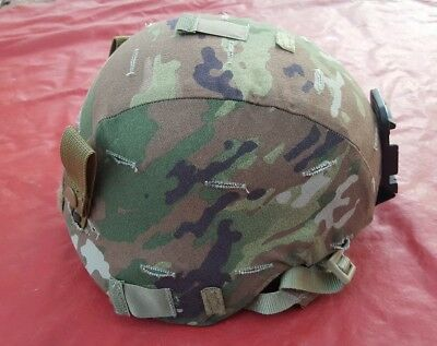 New Us Army Ach Advanced Combat Helmet With Multicam Cover Msa Small