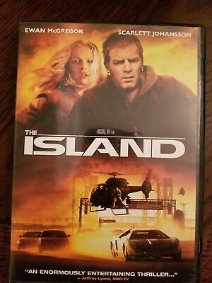 The Island w/Ewan McGregor, Scarlett Johansson DVD Movie