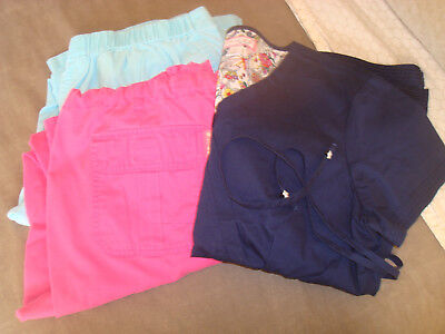 Koi by Kathy Peterson Mixed Scrub Lot of 3 Size Large Top(New- 1) Pants(2) GUC