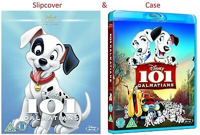 101 Dalmatians (1961) Blu-Ray Disney with special slipcover BRAND NEW Free Ship