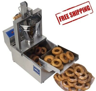 Small Business Compact Donut Fryer Maker Making Machine 80 Pcs/h Professional